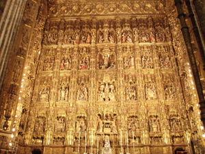 P2241880 太陽と情熱の国スペイン <セビリア大聖堂> 世界遺産: おとめ座の1等星・スピ